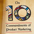 The 10 Commandments of Product Marketing
