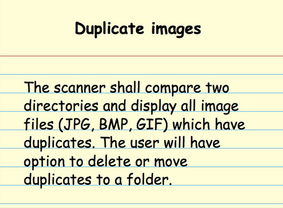 "Let's play ""Req or Spec"": duplicate images"